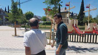 El PP desmantela un parque recién inaugurado y Somos Pozuelo pide explicaciones