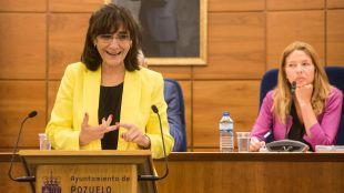 La alcaldesa de Pozuelo ha hecho balance de su gestión al frente de la ciudad