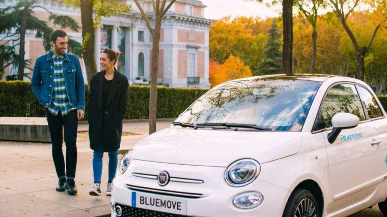 El carsharing sale de Madrid y llega a Pozuelo de la mano de Bluemove