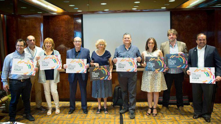 La alcaldesa de Madrid propone la creación de un Erasmus latinoamericano