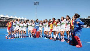 Medalla de bronce en el Mundial de hockey hierba femenino para las Red Sticks de Andrés Mondo