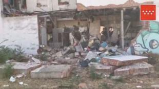 El Ayuntamiento comienza las obras necesarias para garantizar la seguridad del edificio afectado por la explosión
