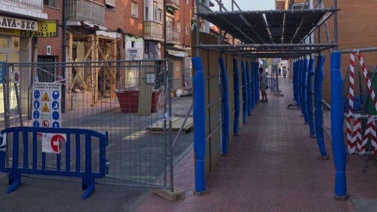 El Ayuntamiento de Pozuelo finaliza la instalación del paso peatonal seguro en la calle Benigno Granizo