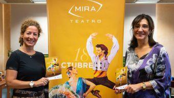 Compañías y artistas de primer nivel como Carmen Maura, Carmelo Gómez, Secun de la Rosa o Bebe se suben a las tablas del MIRA Teatro