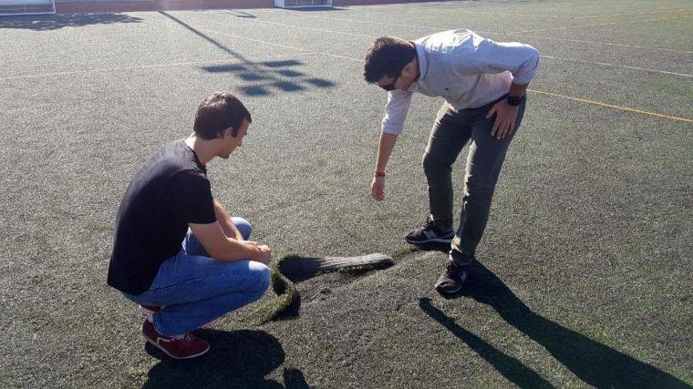 Somos Pozuelo pide inversiones en el campo de fútbol de 'El Pradillo'