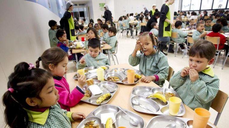 Comienza el plazo para solicitar las ayudas de comedor para alumnos de colegios públicos y concertados