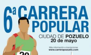 """Pozuelo acoge la sexta edición de la Carrera Popular """"Ciudad de Pozuelo"""" el próximo 20 de mayo"""