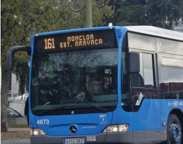La EMT amplía el recorrido de la línea 161 (Moncloa- Estación de Aravaca) para conectar Madrid con los nuevos desarrollos de Aravaca y que también afectan a Pozuelo
