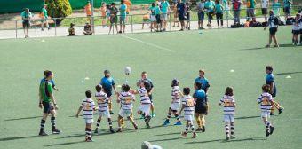 Festival Nacional de Rugby Sub-12 en el Valle de las Cañas de Pozuelo de Alarcón