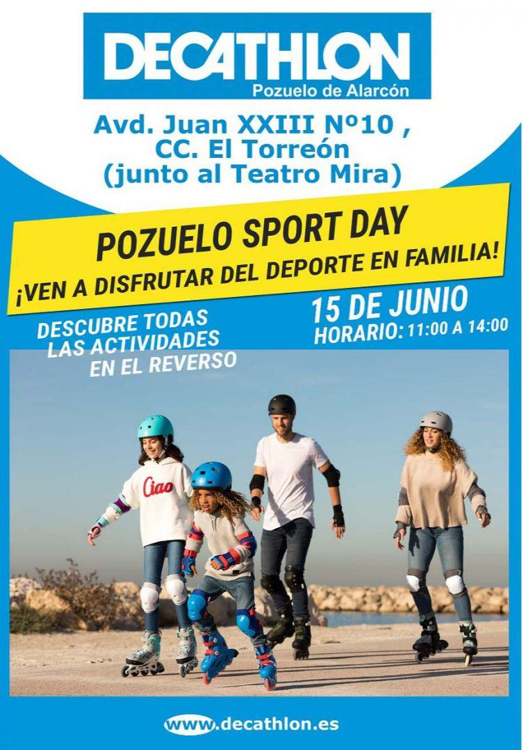 Decathlon Pozuelo de Alarcón celebra el Día del Deporte