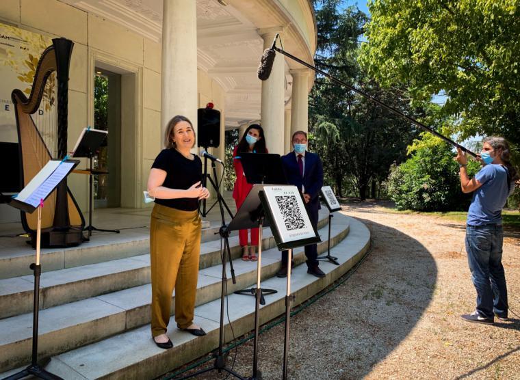 La Comunidad de Madrid presenta el festival Fuera de Red, atardeceres en los jardines de Hortaleza