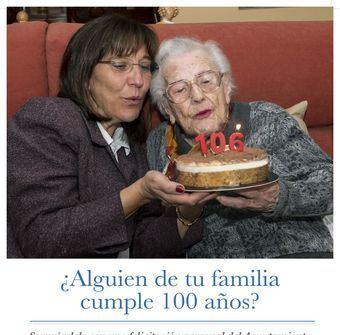 Las personas que cumplen 100 años en Pozuelo de Alarcón podrán celebrar su centenario con una visita institucional