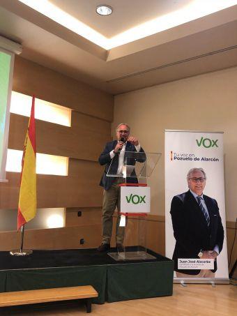 uan José Aizcorbe, candidato a alcalde de Pozuelo de Alarcón por Vox.