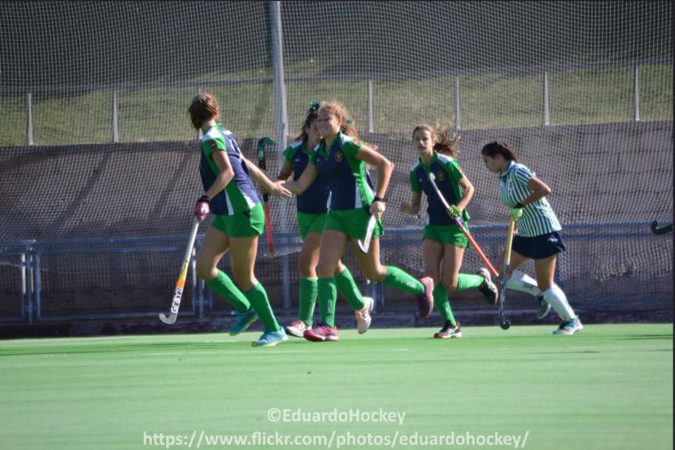 Jornada 6a CHP Pozuelo 1ª División Femenina. Hockey Hierba