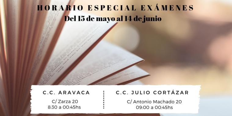 Las sala de estudios del C.C. Aravaca amplía su horario de atención