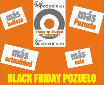 """""""Black Friday Pozuelo"""" arranca este lunes con cerca de un centenar de comercios que ofrecerán promociones especiales"""