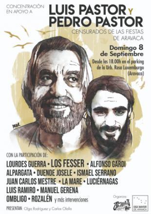 ¡Cultura sin censura! Concentración en Aravaca el 8 septiembre