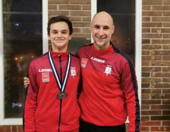 Alberto Luque conquista el bronce en el Campeonato del Mediterráneo