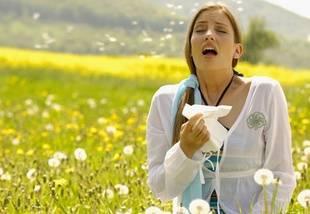 ¿Eres alérgico al polen?