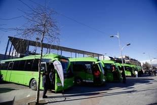 La Comunidad renueva los autobuses interurbanos de municipios del corredor de la A-6