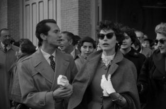 Ava Gardner y Luis Miguel Dominguín