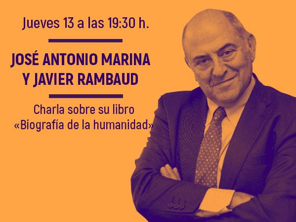 José Antonio Marina y Javier Rambaud estarán en Pozuelo el jueves