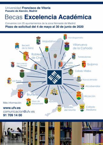 Se abre el plazo para solicitar una beca para estudiar en la Universidad Francisco de Vitoria (Madrid) para el próximo curso