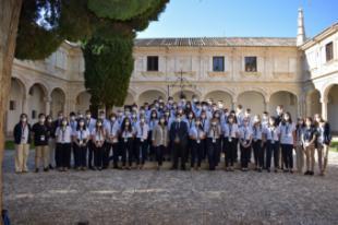 Los 50 estudiantes más brillantes de Becas Europa Santander-UFV inician su viaje por España