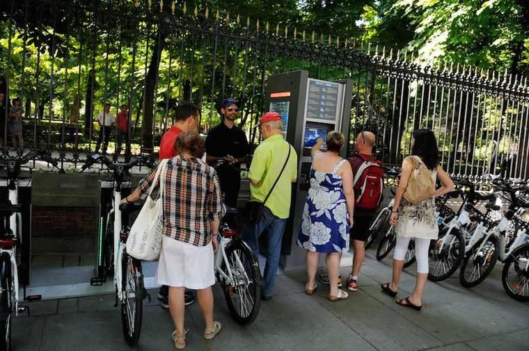 El sistema de bici pública, BiciMAD sigue creciendo