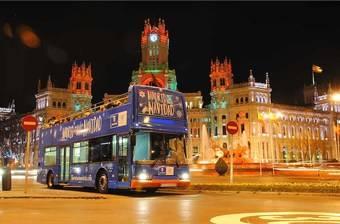 ¿Quieres dar un paseo en el Bus de la Navidad?