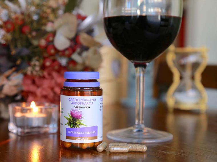 Cardo mariano, planta medicinal para los excesos con la bebida y la comida
