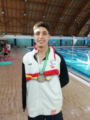 Carlos Martínez Fernández, subcampeón de Europa