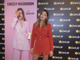 Carl´s Jr. celebra en Madrid el lanzamiento de su nueva 'Cheesy Mushroom Burguer by Dulceida'