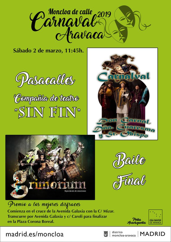 El carnaval llega a Aravaca