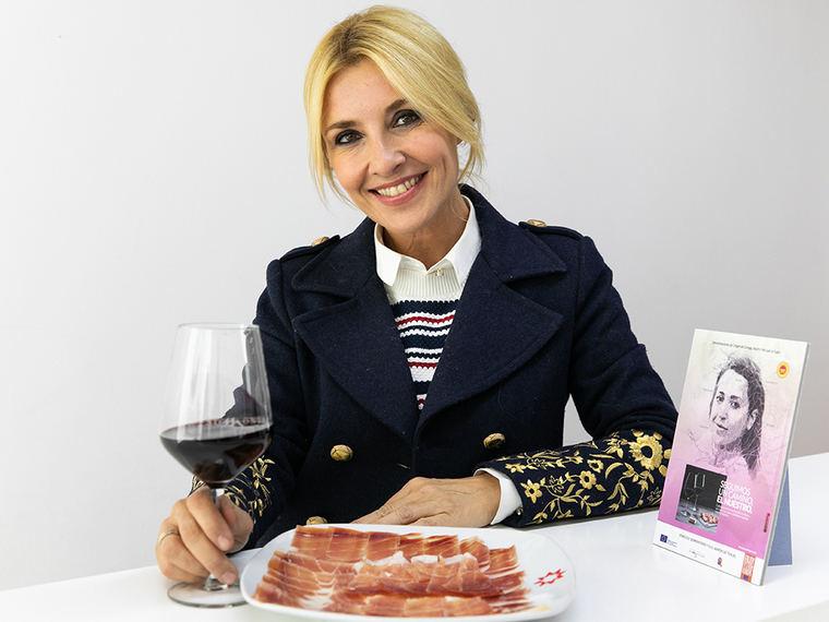Cayetana Guillén Cuervo, embajadora de las Denominaciones de Origen Vino Somontano y Jamón de Teruel
