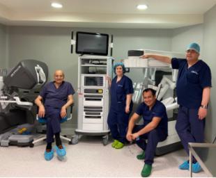 HLA Universitario Moncloa celebra el curso de técnicas robóticas para el diagnóstico y tratamiento del cáncer de próstata