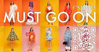 El CSDMM acerca el trabajo de las futuras promesas de la moda a las calles a través de 'Must Go On'