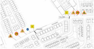 Incidencias de tráfico esta semana en Pozuelo de Alarcón