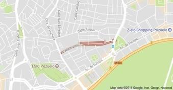 El Ayuntamiento de Pozuelo construirá un nuevo aparcamiento de 200 plazas en la calle Diamante