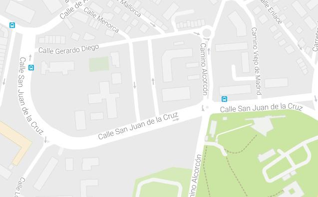 Cortes de estacionamiento en la calle Gerardo Diego este viernes