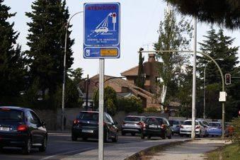 Nuevo punto de control de semáforo en rojo en Aravaca