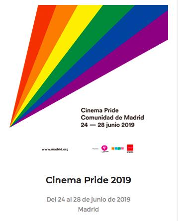La Comunidad programa la IV edición de 'Cinema Pride' dentro del Orgullo Madrid 2019