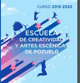 Hasta el 10 de septiembre abierto el plazo de inscripción en la Escuela de Creatividad y Artes Escénicas para el próximo curso