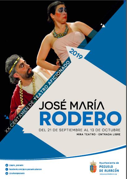 El grupo Ateneo de Pozuelo inaugura el XX Certamen de Teatro Aficionado José María Rodero en el MIRA Teatro