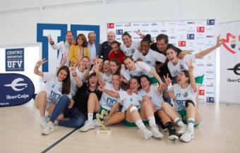 La Universidad Francisco de Vitoria (Madrid) renueva su patrocinio con el primer equipo femenino del Club Baloncesto Pozuelo