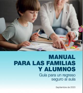 La Comunidad de Madrid edita un manual para ayudar a familias y centros educativos durante el curso escolar 2020/21