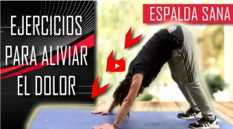 Cris Tello propone ejercicios para aliviar el dolor de espalda