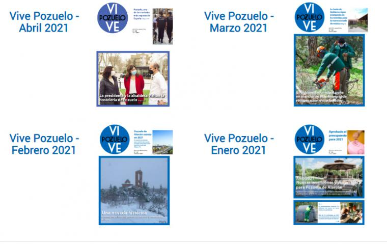 El GM VOX ha presentado una moción para la supresión de la edición impresa de la revista municipal Vive Pozuelo