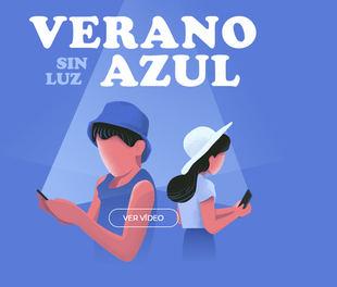 Un verano sin luz azul, una campaña para reducir el uso del móvil y fomentar el juego de mesa en familia