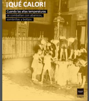 La Comunidad de Madrid propone un viaje a los veranos del siglo pasado con la muestra fotográfica ¡Qué calor!